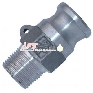 3 Inch Part F Cam & Groove Male Adapters x BSPT Male Thread Aluminium (AU) Alloy Camlock Type